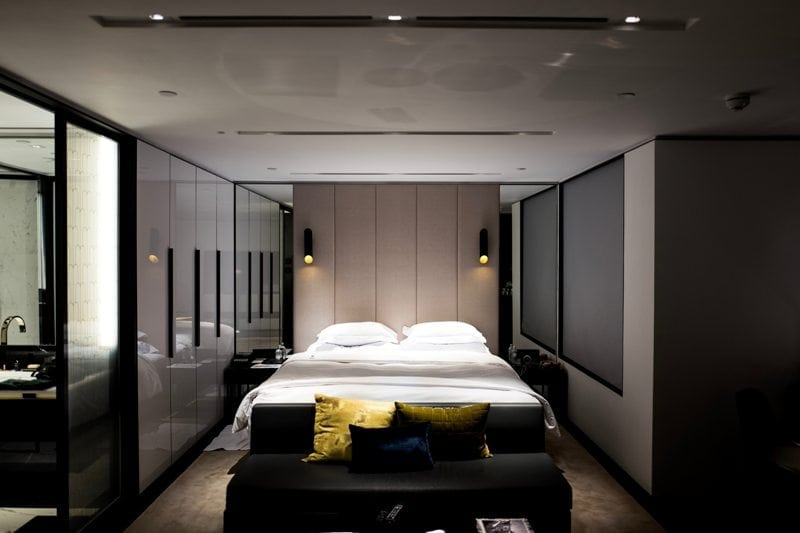 Garage turned into bedroom in North London.jpg
