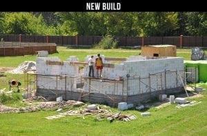 New build examination at 50 Hyde Park, London, W2