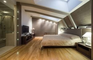 loft conversion bedroom in North London N1 postal code