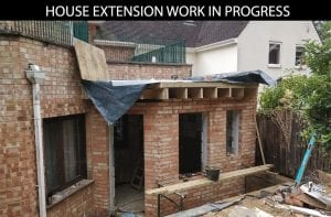 buildingconstructor previous work house extension side at bexley south london