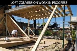 buildingconstructor previous loft conversion work in progress at hillingdon, north london