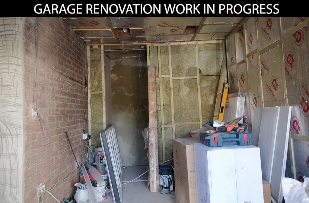 buildingconstructor previous garage renovation work at hammersmith, north london
