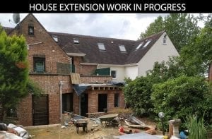 buildingconstructor previous work house extension front at bexley south london