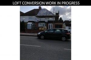 buildingconstructor previous loft conversion work front view at hillingdon, north london
