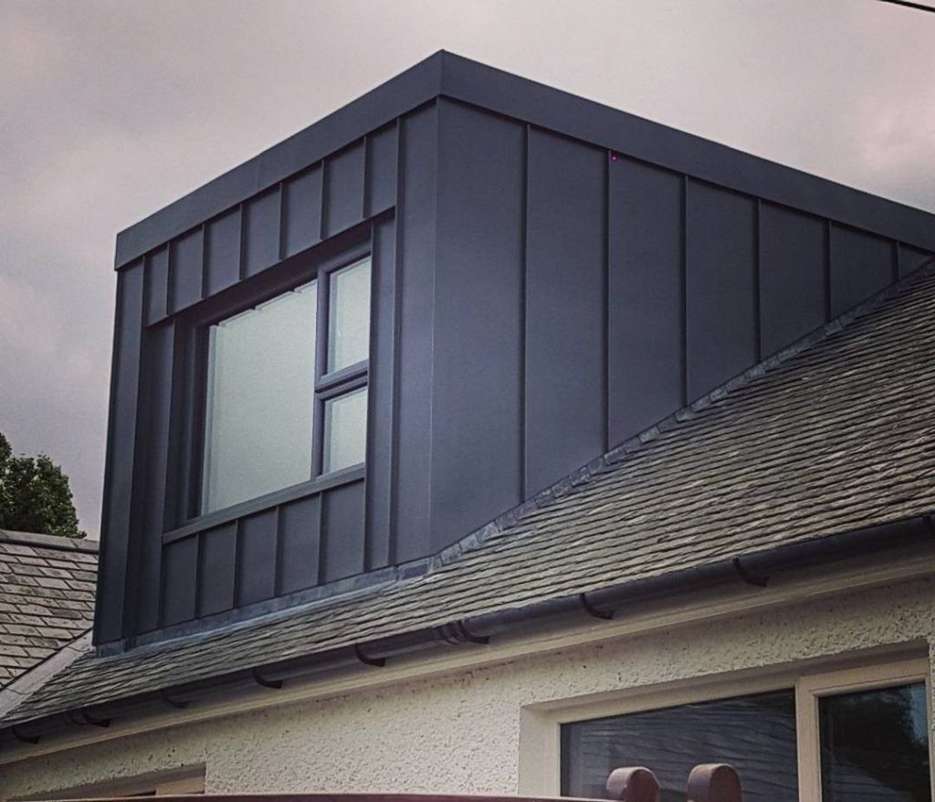 black dormer loft conversion on a semi terraced house