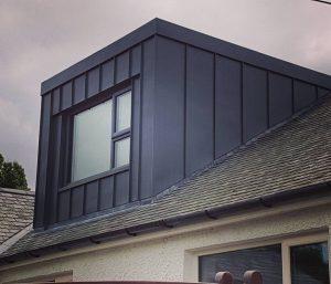 black dormer loft conversion on a semi terraced house