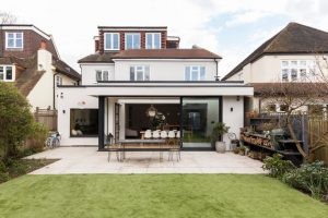 wrap around extension in north london