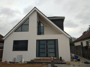 BRAND NEW BUILD OF A WHITE HOUSE IN KENSINGTON LONDON