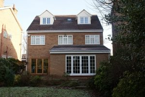 Loft extension and rear extension on a london home