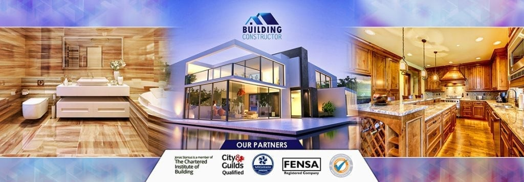 The building constructor security trust banner