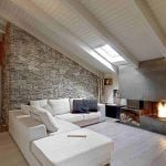 Loft Conversion with living room in loft